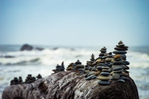 Pebbles piling up- holding grudges in relationships is harmful